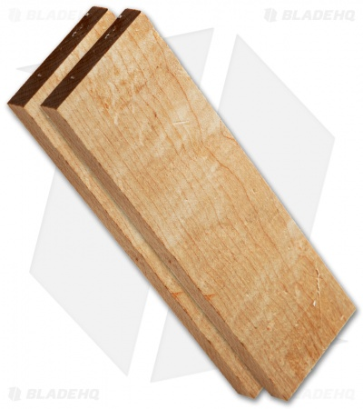 "Payne Bros. Birdseye Maple Wood Handle Scale Set (5"" x 1.5"" x 0.25"")"