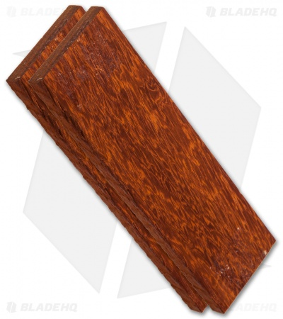 "Payne Bros. Padauk Wood Handle Scale Set (5"" x 1.5"" x 0.25"")"
