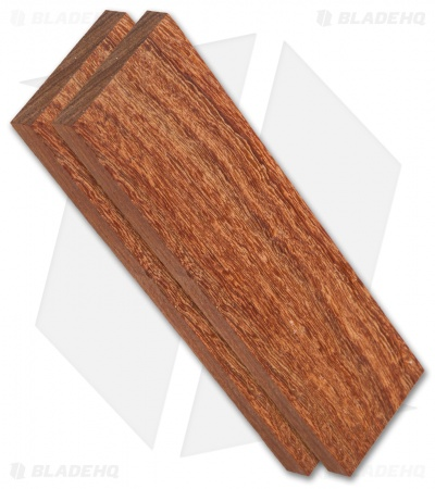 "Payne Bros. Pau Rosa Wood Handle Scale Set (5"" x 1.5"" x 0.25"")"