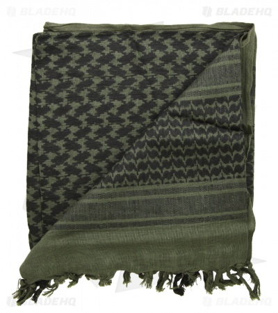 Camcon Shemagh Head Scarf (Olive/Black)