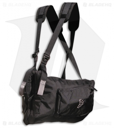Ribz Stealth Black Front Pack (Large) BLK-L-1122