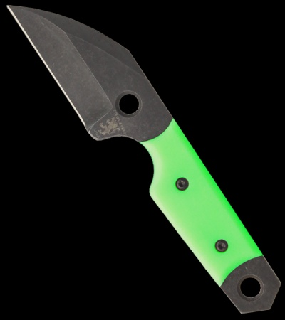 "Sam Eddleman Wharncliffe Dashi Neck Knife Moon Glow Fixed Blade (2"" Plain)"