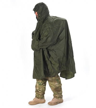 Snugpak Enhanced Patrol Poncho (Olive) 92285