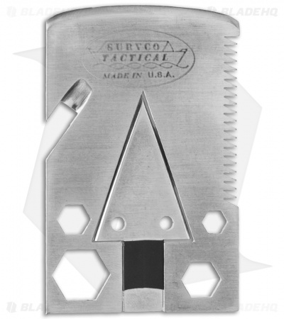 SURVCO Tactical Credit Card Axe Survival Pocket Tool