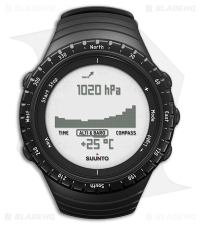 Suunto Core Regular Black Outdoor Watch