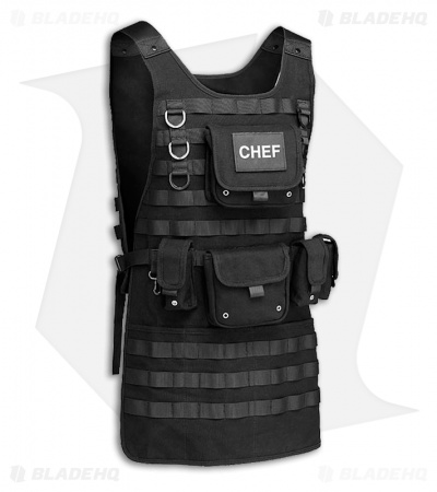 Tactical BBQ Apron (Black)