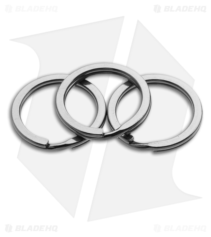 25mm Titanium Split Rings (Set of 3) Key Rings - Blade HQ d152f931ce40