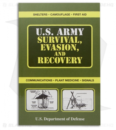 US Army Survival, Evasion, and Recovery (Paperback) by US Department of Defense