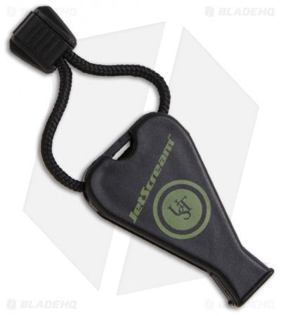 UST Black JetScream Whistle