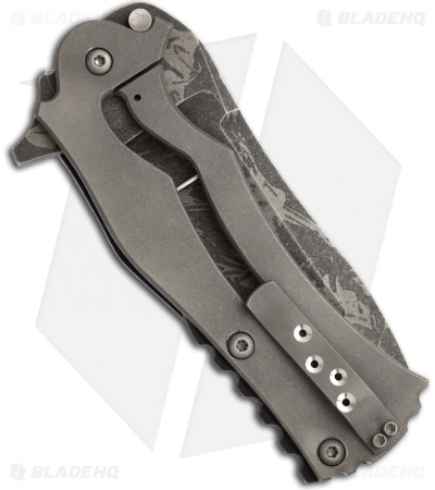 "Mikkel Willumsen Urban Tactical Frankie Folder Black/Grey G10 (4"" Plain)"