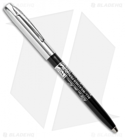 Rite in the Rain All-Weather Black/Chrome Standard Clicker Pen (Black Ink) #37