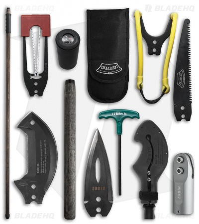 Zubin Axe Survival Staff - Complete Kit