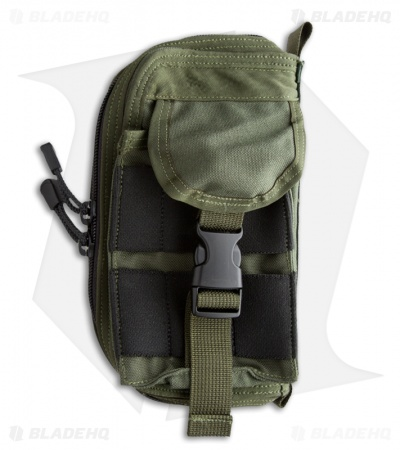 Zulu Nylon Gear MOLLE Survival Kit Pouch (Olive Drab)
