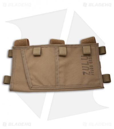Zulu Nylon Gear MOLLE Visor Panel (Coyoted Brown)