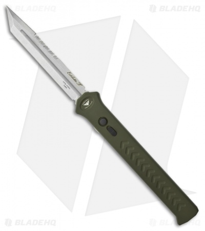 "Paragon Estiletto Tanto Green OTF Automatic Knife (5.25"" Plain)"