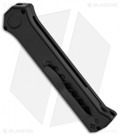 "Asheville Steel Paragon PARA-XD Black D/E OTF Automatic Knife (3.625"" Black)"