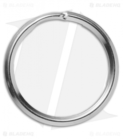 UMX Stainless Steel Split Ring - 30mm / Nickel