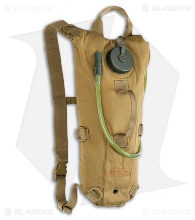 Red Rock Outdoor Gear Rapid Hydration Pack 2.5 Liter Coyote Tan