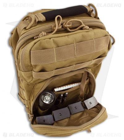 Red Rock Outdoor Gear Rover Sling Pack Coyote Tan 80129COY