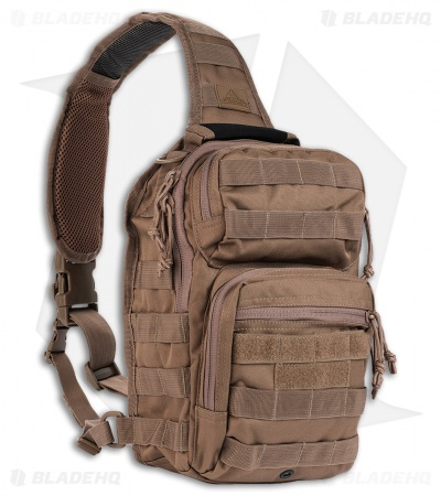 Red Rock Outdoor Gear Rover Sling Pack Dark Earth Brown 80129DE
