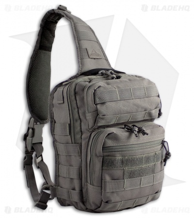 Red Rock Outdoor Gear Rover Sling Pack Tornado Gray 80129TOR