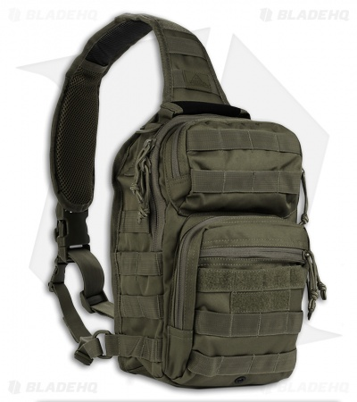 Red Rock Outdoor Gear Rover Sling Pack OD Green 80129OD