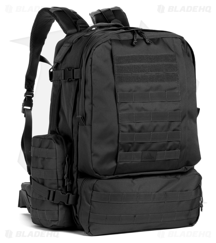Red Rock Outdoor Gear Diplomat Backpack Black 80171BLK
