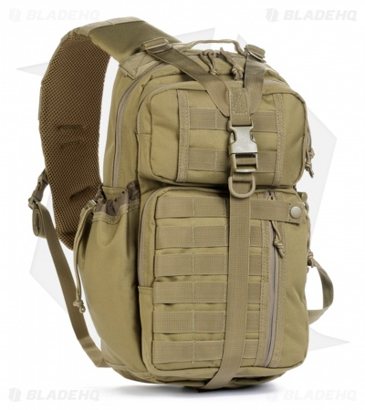 Red Rock Outdoor Gear Rambler Sling Pack Coyote Tan 80201COY