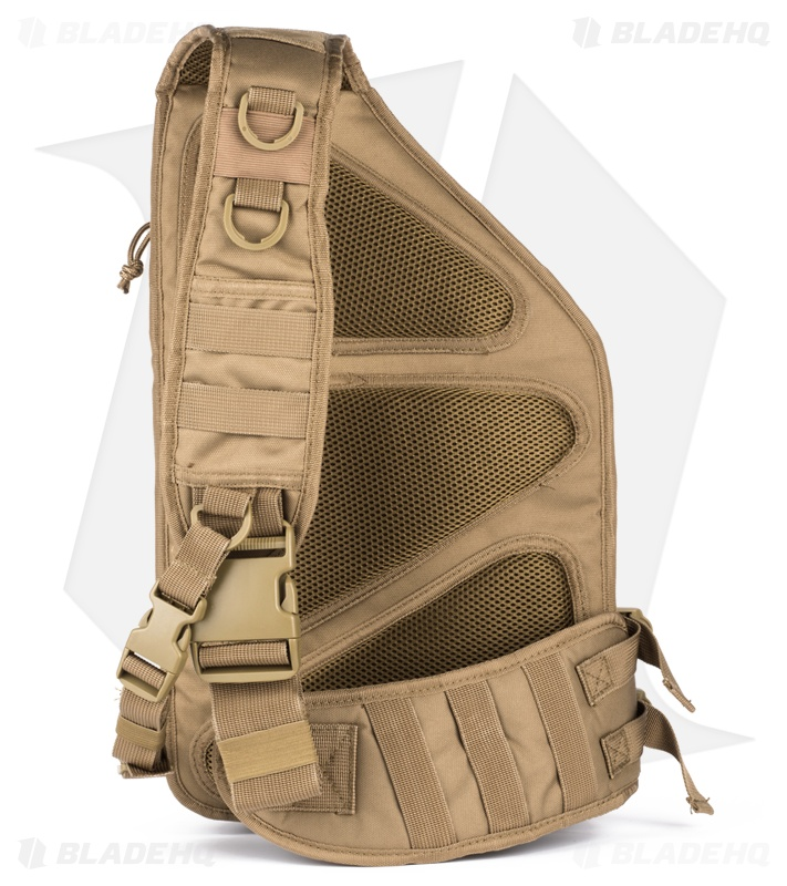 77dc87f1ad9a Red Rock Outdoor Gear Recon Sling Pack Coyote Tan 80139COY