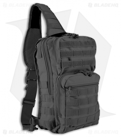 Red Rock Outdoor Gear Large Rover Sling Pack (Black) 80130BLK
