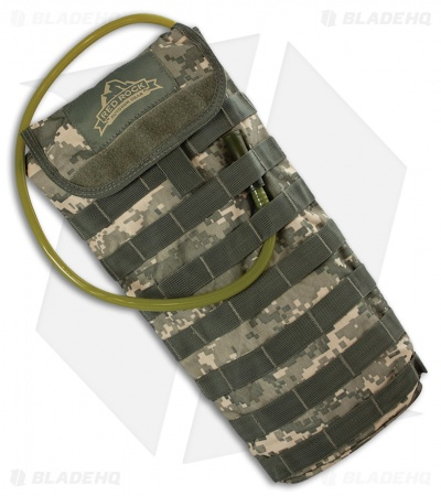 Red Rock Outdoor Gear MOLLE Hydration Pack 2.5 Liters ACU Camo