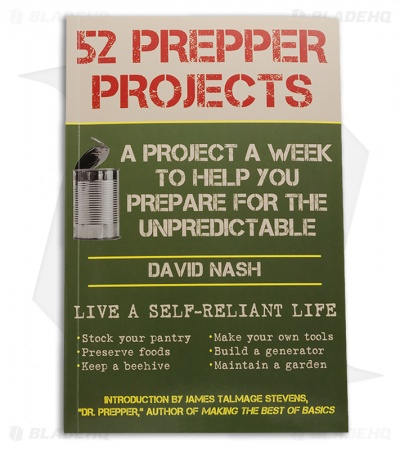 52 Prepper Projects by David Nash (Paperback)