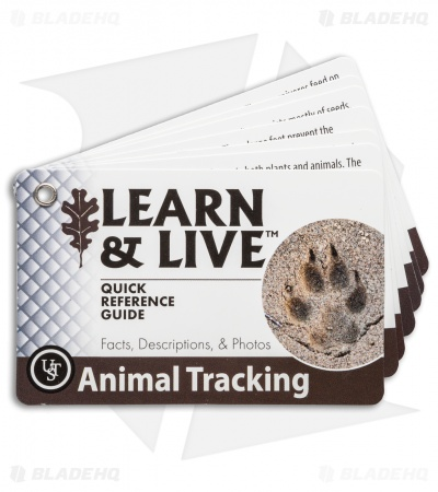 Ultimate Survival Technologies Animal Tracking Cards