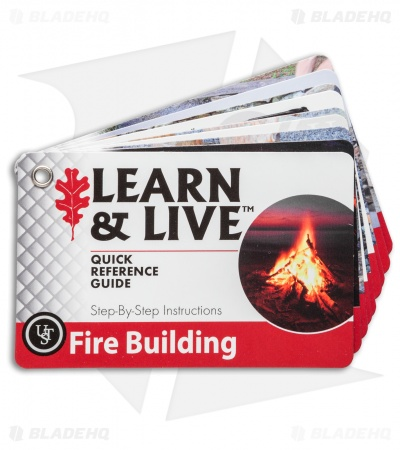 Ultimate Survival Technologies Fire Starting Cards