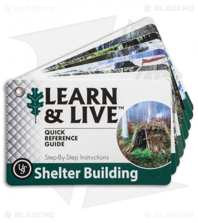 Ultimate Survival Technologies Shelter Building Cards