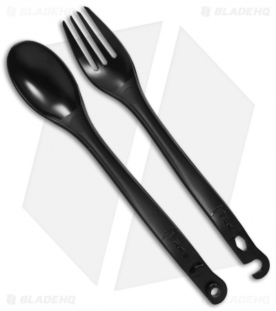 Merkwares Sprongs Camping Cutlery Set (Slate)