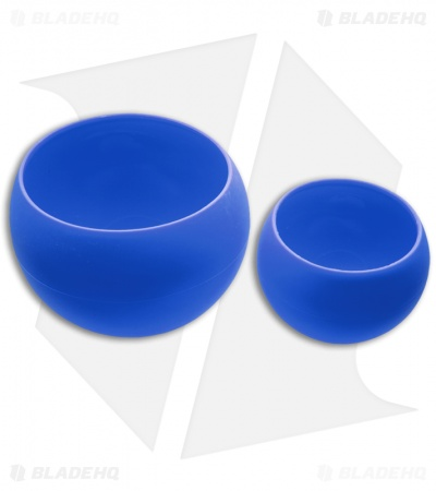 Guyot Designs Squishy Bowls Silicone Cup and Bowl Set (Tahoe Blue)