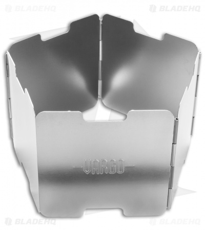Vargo Gray Aluminum Alcohol Stove Windscreen