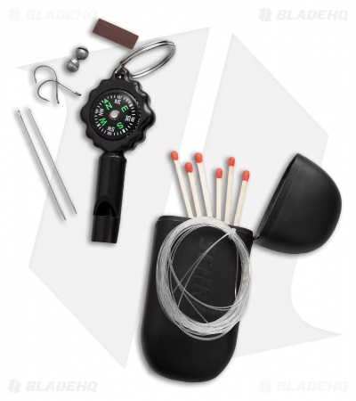 Schrade Black Accessory Survival Kit (SCSK1)