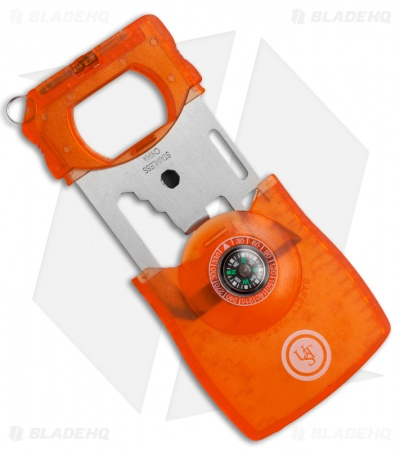 UST Survival Card Cutting Tool Orange (10-in-1)