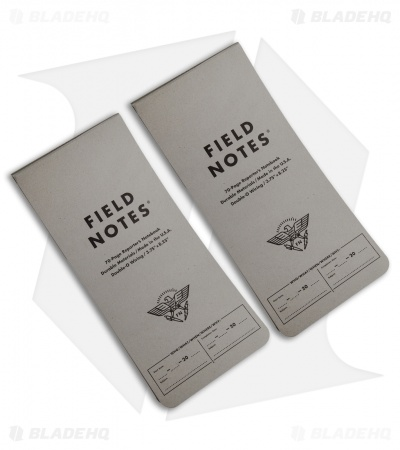 Field Notes Front Page Reporter's Notebooks w/ Receipt Pocket 2-Pack