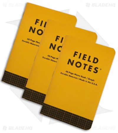 Field Notes Utility Graph 3-Pack (Safety Yellow) FNC-34A