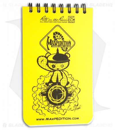 "Maxpedition Rite in the Rain Pocket Notebook (3"" x 5"") Yellow"