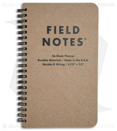 Field Notes  Week Planner Notebook Fn  Blade Hq