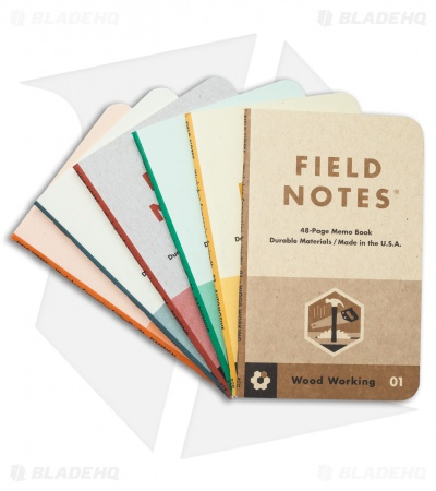 Field Notes Workshop Companion Boxed Set of 6 Memo Books
