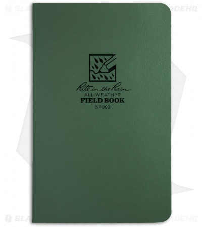 "Rite In The Rain Field Flex 4.5"" x 7.25"" Notebook (Green) #980"