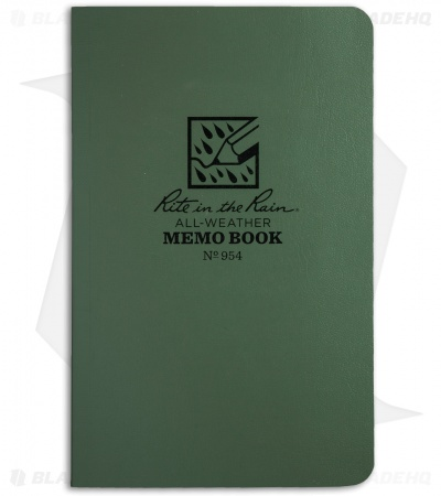 "Rite In The Rain Field Flex Pocket Memo 3.5"" x 5"" Notebook (Green) #954"