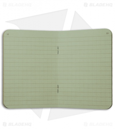 "Rite In The Rain Stapled 4.5"" x 7"" Notebook 3-Pack (Green) #971FX"