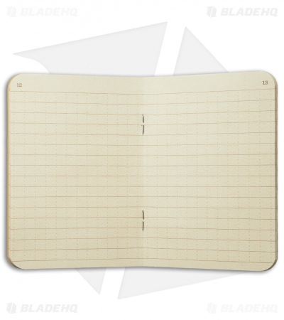 "Rite In The Rain Stapled 4.5"" x 7"" Notebook 3-Pack (Tan) #971TFX"