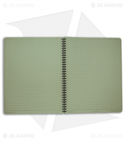 "Rite In The Rain Maxi Side Spiral 8.5"" x 11"" Notebook (Green) #973-MX"